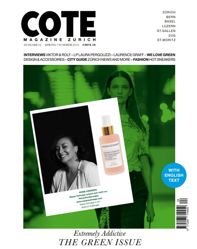 COTE MAGAZINE - NAZAN SCHNAPP - WITH LOVE FROM ZURICH