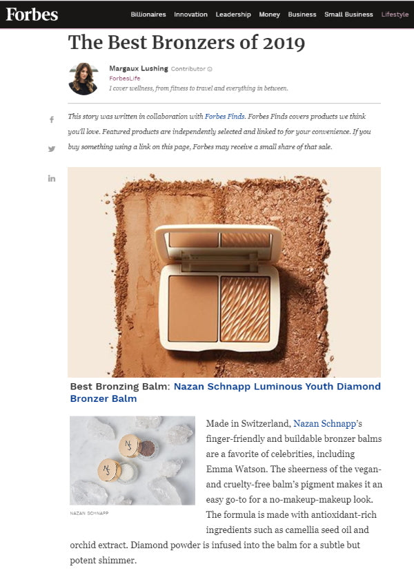 THE BEST BRONZERS OF 2019 - FORBES