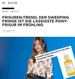 HARPER'S BAZAAR - FRISUREN TREND MIT LIGHTWEIGHT TREATMENT