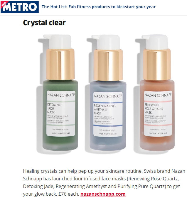 METRO - CRYSTAL CLEAR TO GET YOUR GLOW BACK