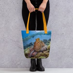 Majestic Octopus Tote bag