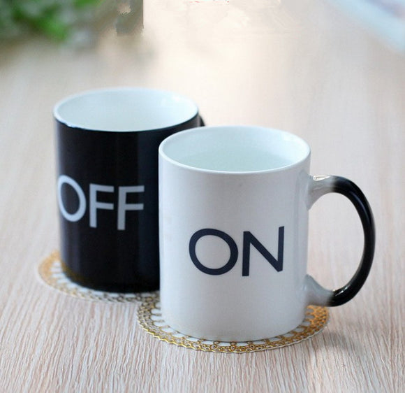 Tasse ON/OFF thermosensible