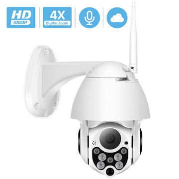 1080P PTZ Outdoor Wifi IP Camera