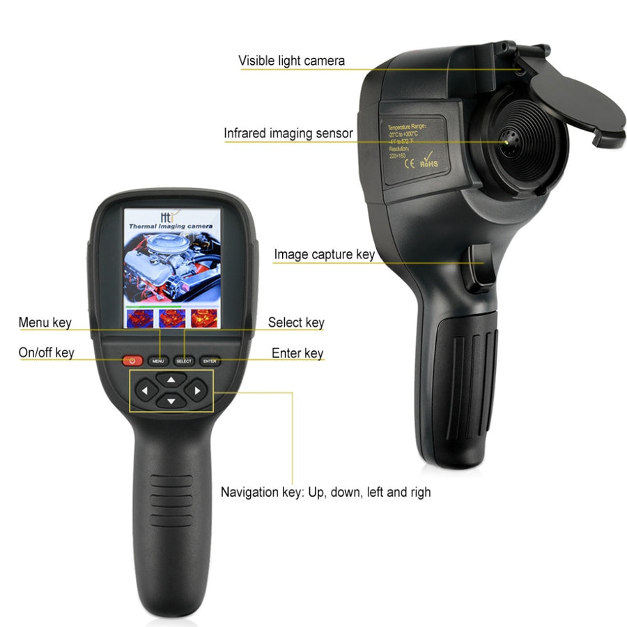 Handheld IR Digital Thermal Imager