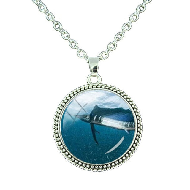 Diver necklace
