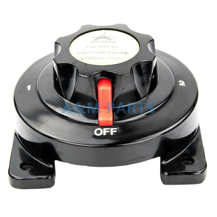 Heavy Duty Marine Dual Battery Switch Selector