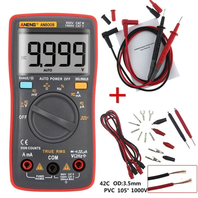 AN8008/AN8009 Multimeter
