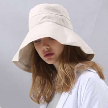 Women Bucket Cap Sun Hat