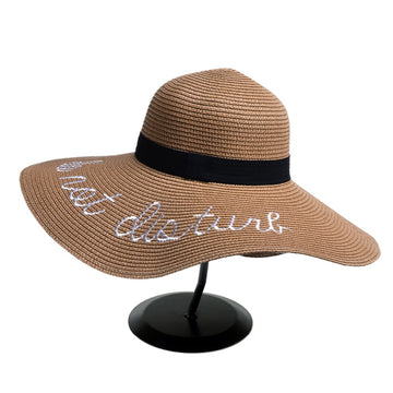 Wide Brim Sun Hat For