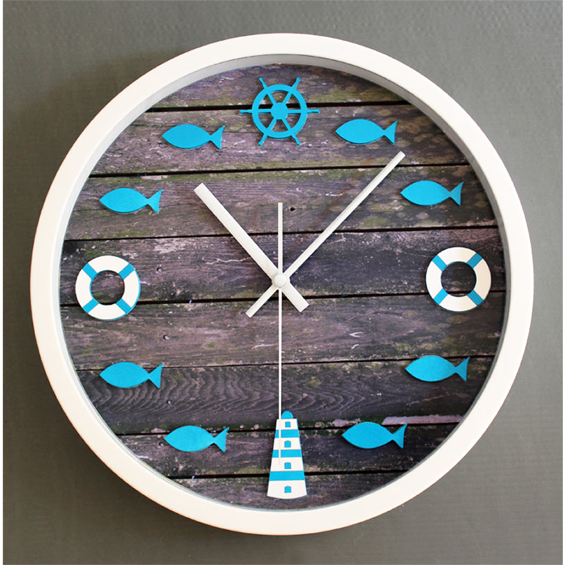 Marine/Beach wall clock