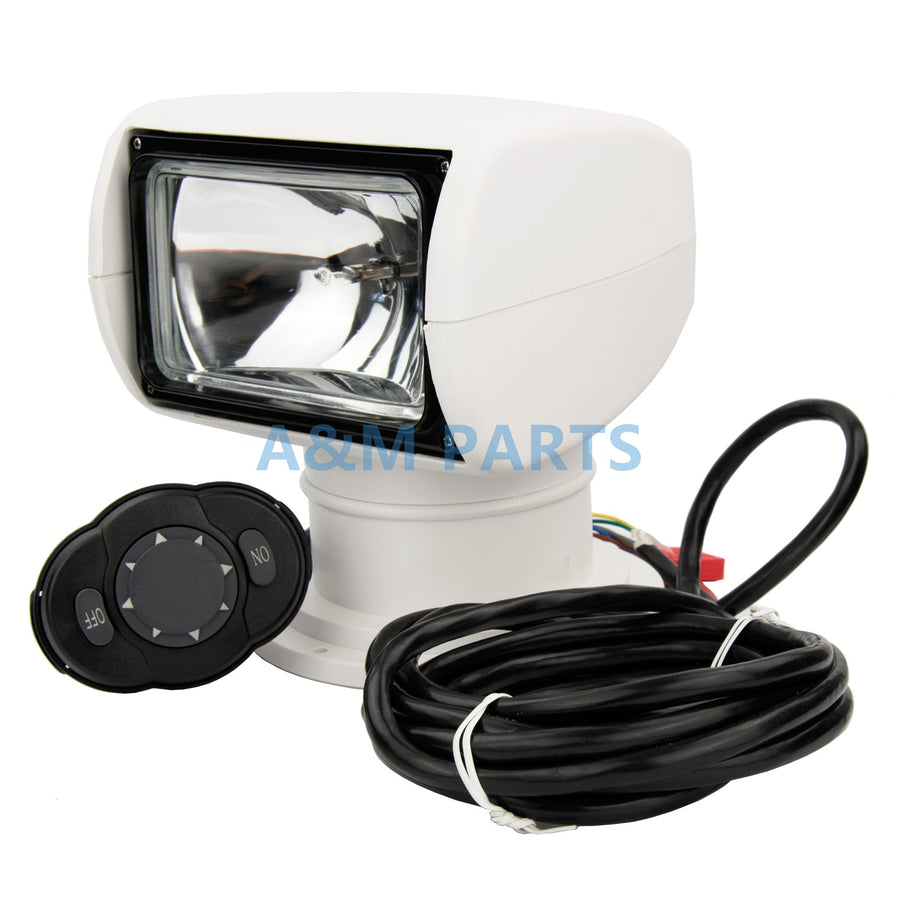 Remote Control Spotlight/Searchlight 12V 100W