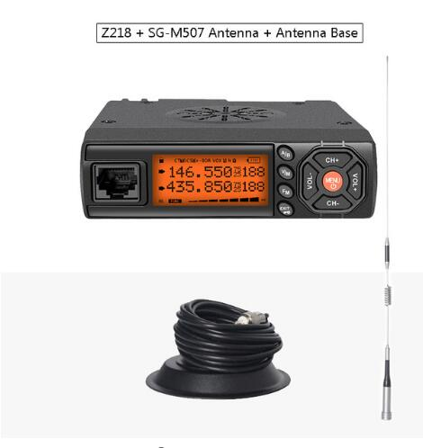 Zastone Z218 Mini Car Walkie Talkie 10KM 25W Dual Band VHF/UHF