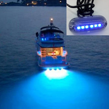 6 LED Underwater Fishing Light 12V