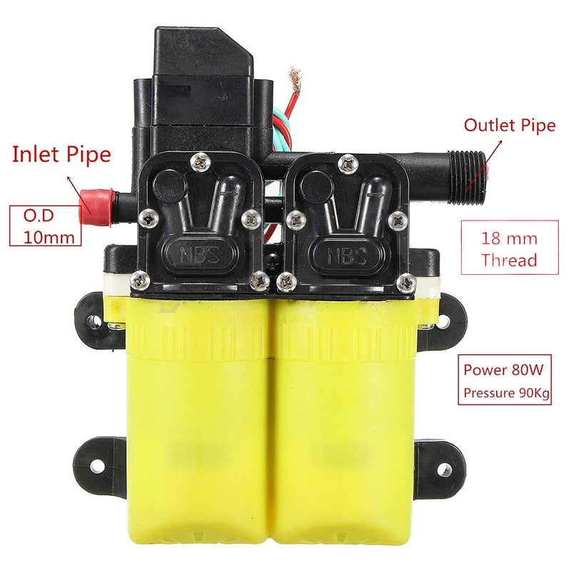 Electric Water Pump DC 12V 80W