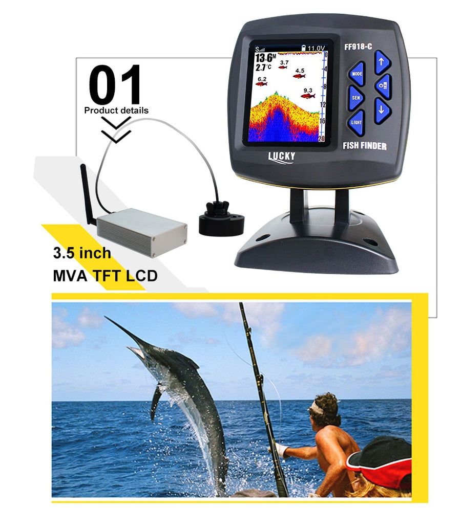 Fish Finder Echo sounder