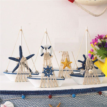 Marine Wooden Home Decor