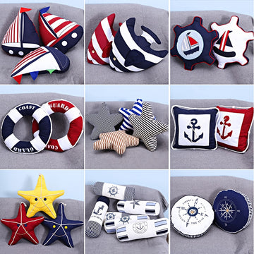 Marine pillow decoration