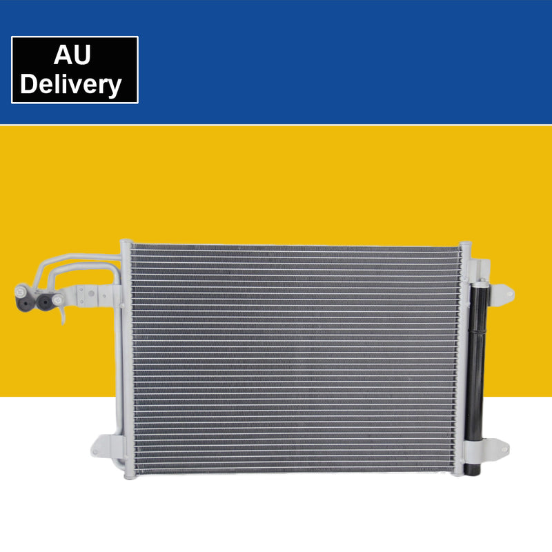 Air Condenser fits AUDI A3 S3 8P 8J 2.0 3.2 Auto Manual 2003 on