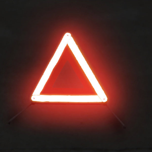 Car Warning Triangle Reflective Emergency Breakdown & High Visibility Vest KIT