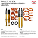 "2"" 50mm Lift Kit Toyota Landcruiser Prado 150 Series KDJ150 3.0 Suspension Kit"
