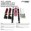 Fits Holden Commodore VT VX VY VU Coilover Struts Adjustable Damper Coilovers Kits