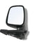 Fits Door Mirror Black Manual Right Hand Side for Ute Rodeo Colorado