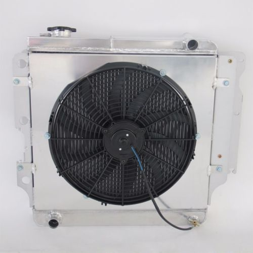 Aluminum Radiator FAN SHROUD For Jeep Wrangler YJ TJ Right Hand Side 87-07