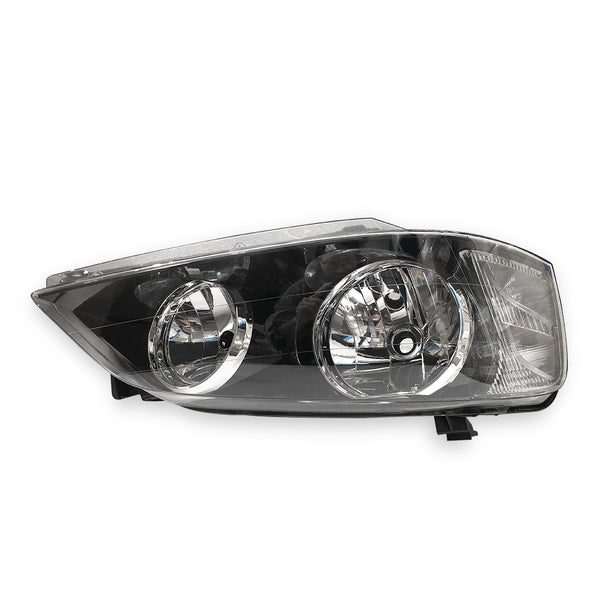 Fits Right Head Light Lamp Black For Ford Falcon BA BF Series 1 XT 02~06 TYC
