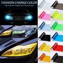 Car Headlight Tint Tail Light Fog Lamp Vinyl Smoke Film 120cm x 30cm/30cm x 60cm