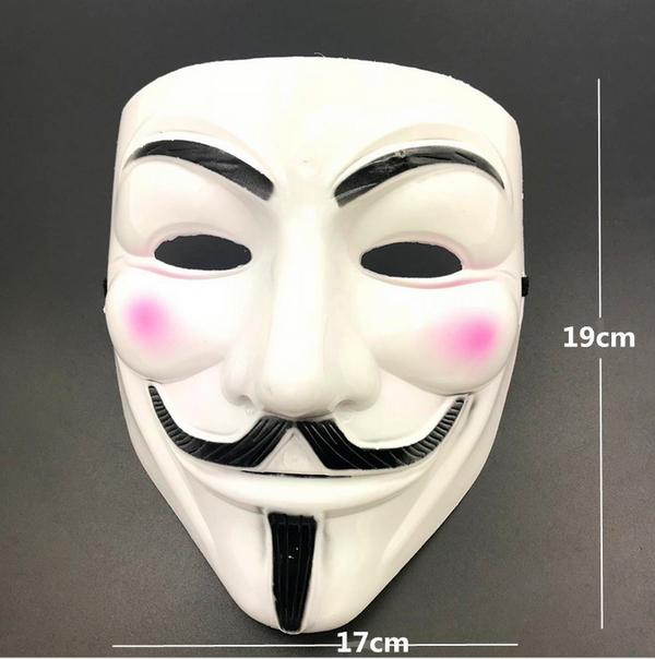 Anonymous Shield V For Vendetta Costume Halloween Guy Fawkes Party Accessories