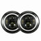 7 inch 200W CREE LED Headlights High Low DRL Halo For Jeep Wrangler TJ JK 97-17