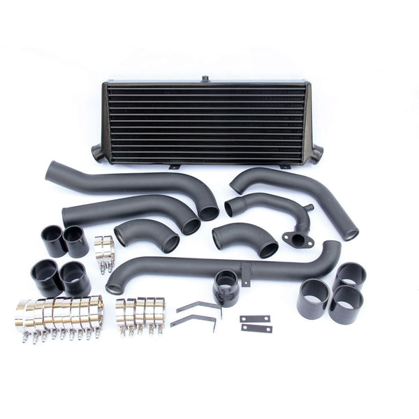 TOYOTA STARLET EP82/EP91 FRONT MOUNT  INTERCOOLER KIT BLACK PAINTED