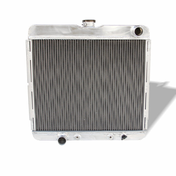 FULL ALUMINIUM RADIATOR FOR FORD MUSTANG 4.1I6/5.0V8/5.8V8 MAVERICK 4.1I6/5.0V8