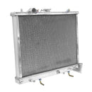 FULL ALUMINIUM RACING RADIATOR MITSUBISHI L200 2.5 TD TURBO DIESEL 1996-2006