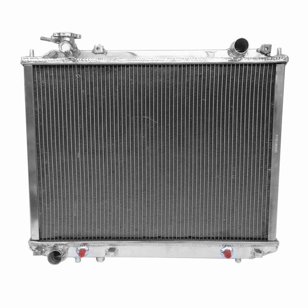 Aluminum Radiator For MAZDA B2500 B2600 BT50 FORD Courier Ranger 96-11+COOLANT