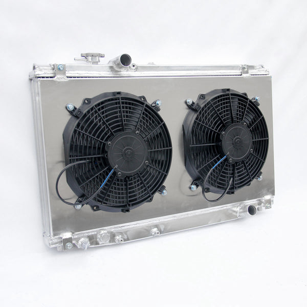3 ROW TOYOTA SUPRA JZA80 2JZ-GTE TURBO 93-02 ALLOY RADIATOR + FANS + SHROUD KIT