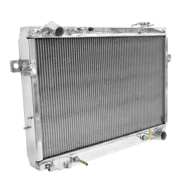 FULL ALUMINIUM RADIATOR+FAN SHROUD FOR TOYOTA LANDCRUISER FJ80/FZJ80 4.5L V6
