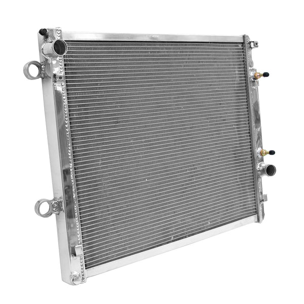 RADIATOR FITS FOR TOYOTA LANDCRUISER PRADO 120 DIESEL 06-09 ALUMINIUM ALLOY RACE