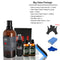 Protect Car Paint Protection Glass Coating 9H 30ML+50ML+Car Wash Snow+Sponge+Clay Sludge+Black Nitrile Gloves+Cleaning Cloth
