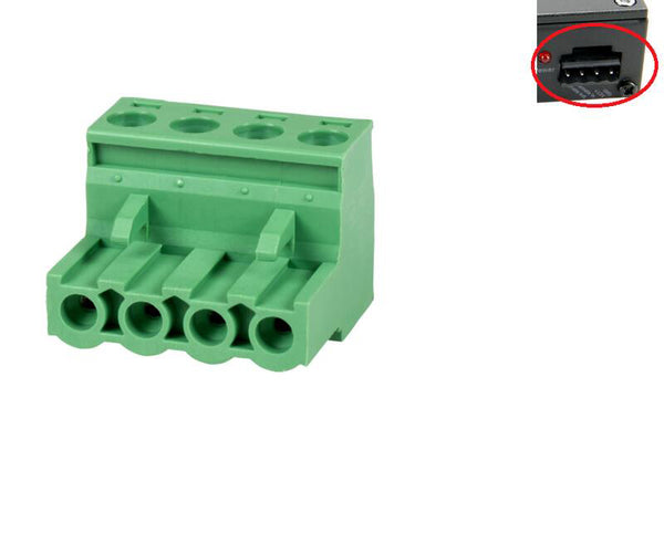 Fits 15EDG-3.81 4P 2EDG Plug-in terminal connectors for bent pin and straight pin