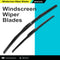 Frameless Windscreen Wiper Blades For Toyota Prado 150R 2010 - (PAIR)
