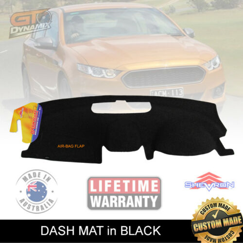 BLACK DASH MAT fits for FORD Falcon FG-X XR6 XR8 G6E XR6 Turbo 1/2015-2017 DM1255 FGX