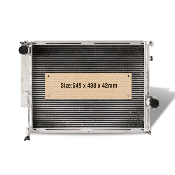 1992-94 BMW 5 Series E34 530i 550mm Short Core FULL ALUMINUM RADIATOR