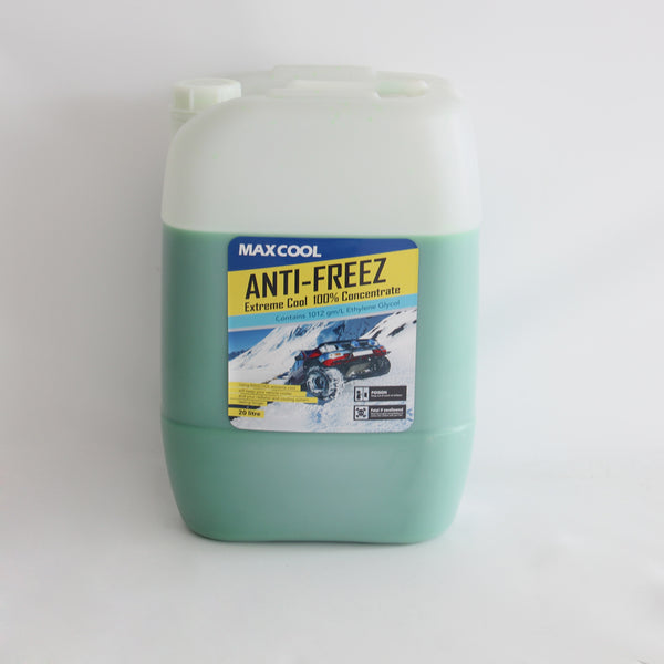 MAXCOOL UNIVERSAL ANTI FREEZE COOLANT 20L GREEN COLOR