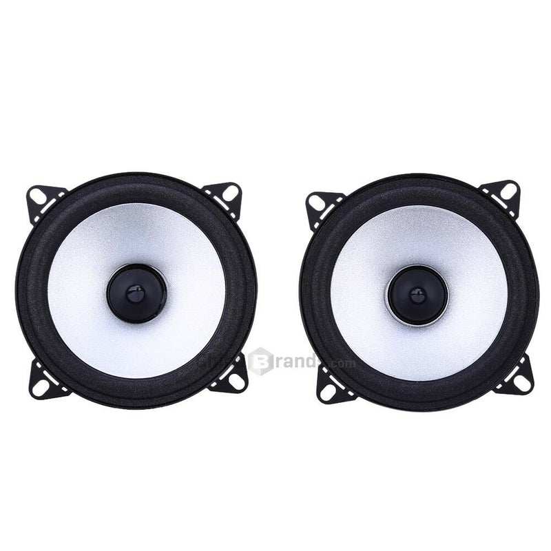 2PCS 4 inch Vehicle Loudspeaker Car HiFi Full Range Bubble Gum Edge Speaker