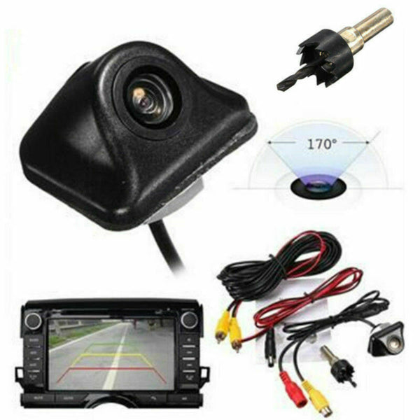 View Rear Auto Night Reverse Backup Parking Universal Recorder Car Vision Camera