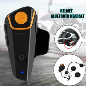Motorcycle Intercom Headset Helmet 1000m BT-S2 Bluetooth Waterproof Motorbike