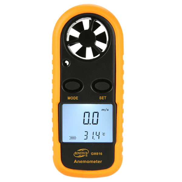Temperature Digital LCD Anemometer Wind Speed Meter Tester Gauge Thermometer