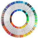120 Colour Brush Pen Watercolor Art Drawing Painting Artist Sketch Manga Marker