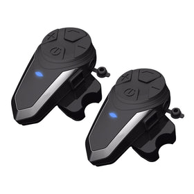 2PCS ZEEPIN BT - S3 1000m Motorcycle Helmet Intercom Bluetooth Headset